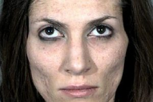 Stacia Nepper was arrested several times during her drug-addicted years. This photo is Stacia's mugshot.